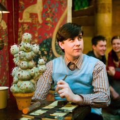 Pin for Later: How Neville Longbottom Became the World's Sexiest Wizard Then Neville Longbottom has always had an affinity for plants. Here he is in Harry Potter and the Order of the Phoenix.