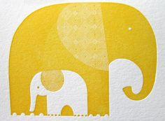 Just Vandy (http://www.justvandy.com/) via Design is Mine (http://designismine.blogspot.com/2011/09/ten-images-of-inspiration-good-on-paper.html) Elephants!!