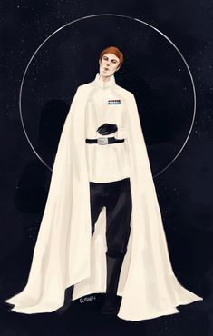 """elithien: """"Hux in the Imperial Admiral's uniform requested by juulna and thekarmadash """""""