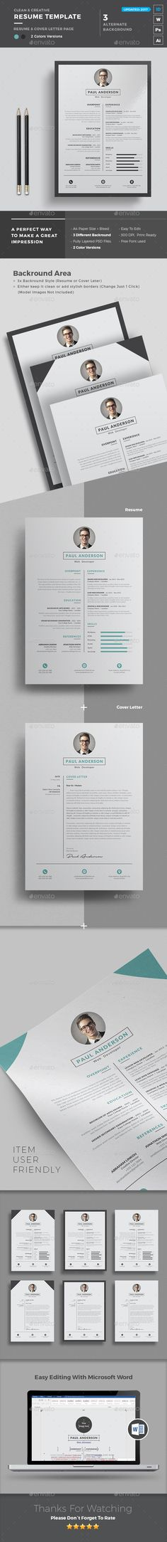 Resume Template Template, Words and Resume - templates for resumes microsoft word