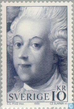 Postage Stamps - Sweden [SWE] - Czeslaw Slania
