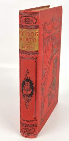 Illustrated My Dog Plato by Legh, shopgoodwill.com  #shopgoodwill #goodwill #antiquebook