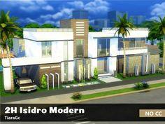 2H Isidro Modern by TiaraGc at TSR via Sims 4 Updates