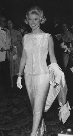 """Doris Day wore this Gown to the Oscars when she was nominated for """"Pillow Talk"""" 1959 Simplicity."""
