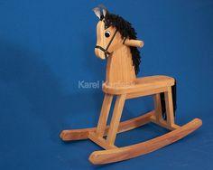 c9a7022d3ea2 Dřevěný houpací kůň   Zboží prodejce Dřevíčko