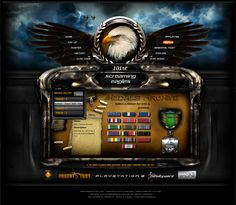 101 Clan Gaming Interface by ~ImmoRtalMedia on deviantART