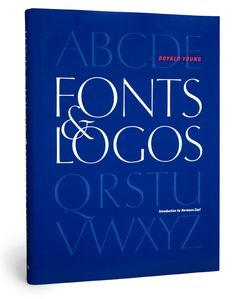 Fonts & Logos is a comprehensive book on basic typography. A total of 377 fonts are shown and discussed, and 91 pages are devoted to the analysis of the serif letter.