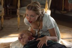Lily James is zombie fighter Elizabeth Bennet in Pride and Prejudice and Zombies, an adaptation of Seth Grahame-Smith's novel. Watch the trailer. New Trailers, Movie Trailers, The Darkness Movie, Superman, Zombie News, Zombie Wallpaper, Pride And Prejudice And Zombies, Movie Previews, Scary Stories