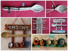 Newspaper weaving art for kitchen Courtesy:Lohitha Rao