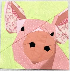 It's Bitty Block time! These cute 4 to 5 inch mini blocks are just fo. It's Bitty Block time! These cute 4 to 5 inch mini blocks are just for fun! Farm Quilt Patterns, Paper Pieced Quilt Patterns, Pattern Blocks, Patchwork Quilting, Quilting Patterns, Quilt Baby, Cat Quilt, Mini Quilts, Farm Animal Quilt