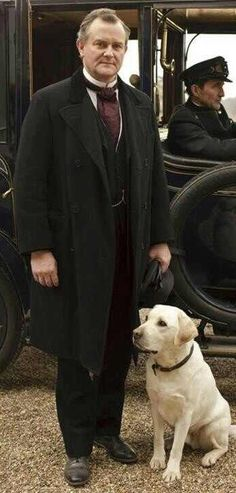 Downton Abbey - Lord Grantham and Isis