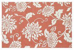 8'x10' Mahalo Outdoor Rug, Orange on OneKingsLane.com