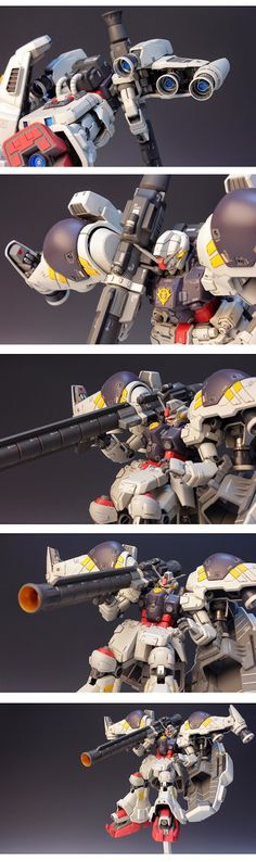 MG 1/100 RX-78GP02A Gundam 'Physalis' - Customized Build Modeled by RedBrick