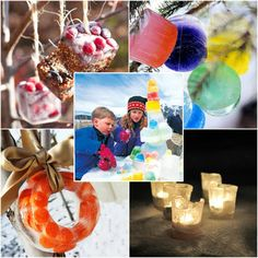 10 Ice Ornaments to add rainbows to winter skies | MollyMoo for @Spoonful