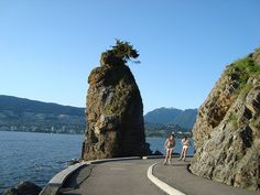 Stanley park sea Wall, Vancouver, BC - what a place to run a half!  Alissa?  Jamie?  Aaronski?