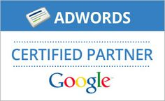 We are Google Ad word Certified Partner