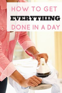Ever feel like there aren't enough hours in the day? I feel your pain! Here are a couple hacks I've come across to help me get everything I need done in a day!