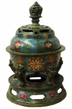 Asian antique old stock functional box holder Ceramic vintage Turtle figurine