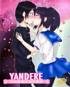 Yandere first kiss by Limon-con-sal on DeviantArt