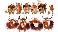 Art of Nico Marlet, Hiccup and Viking designs - Nicolas Marlet