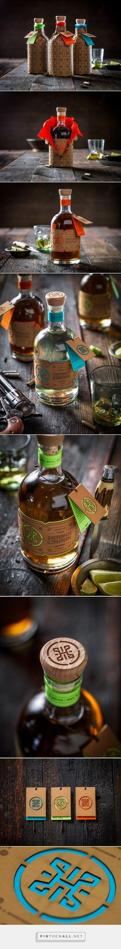 Hook Or Crook Tequila designed Josh Jevons. Pin curated by #SFields99 #packaging #design #branding