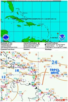 La Depresión Tropical 02L se disipó antes de entrar a las Antillas Menores y es degradada a Onda Tropical No.24