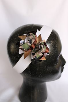 Mini stacked hairbow by FancyFashions11 on Etsy, $5.00