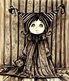 Frankenstein's little girl