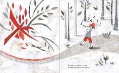 interior del cuento El Canto Errante poema de Rubén Darío ilustrado por Eleonora Arroyo. http://libros-cuentos-infantiles-juveniles.elparquedelosdibujos.com/2016/02/el-canto-errante-poema-de-ruben-dario-ilustrado-por-eleonora-arroyo.html