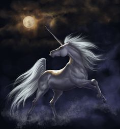 Unicorn - a gallery of magical Unicorn and Pegasus artwork by various artists. This collection of Pegasus and Unicorn images is truly enchanting. Fantasy Unicorn, Unicorn And Fairies, Unicorns And Mermaids, Unicorn Horse, Unicorn Art, White Unicorn, Mythical Creatures Art, Mythological Creatures, Magical Creatures