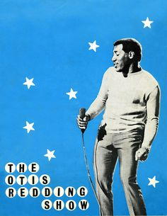 The Stax Revue with Otis Redding 1967 front cover of programme