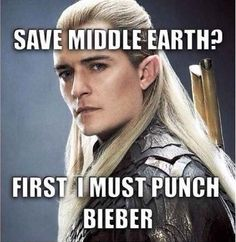 Orlando Bloom Tried To Punch Justin Bieber And The Internet Has Reacted Brilliantly
