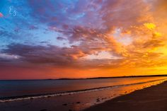 """Sunset Spectrum"" at Goose Rocks Beach"