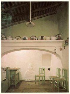 Kitchen in Cuba. Alentejo. PORTUGAL