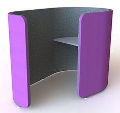 Curved Task Pod | Workspaces | Collaborative | HaworthxFriends