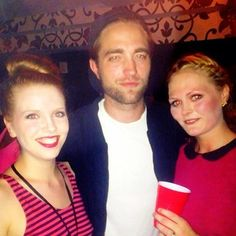 Fan pic of Rob Pattinson at Bjork concert. 6-8-13