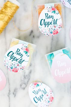 Printable Easter Tags for Easter Brunch