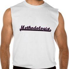 Methodologist Classic Job Design Sleeveless Shirt Tank Tops