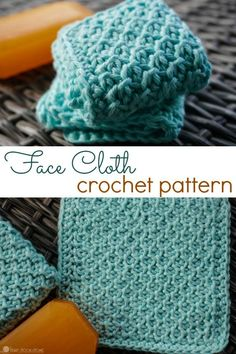 The Bee's Knees Face Cloth Free Crochet Pattern