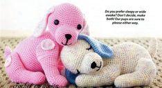 Puppy Dog Crochet Free Pattern