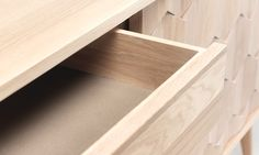 Amazing Scarpa sideboard drawer details! #scarpa #oak #sideboard #design #wood