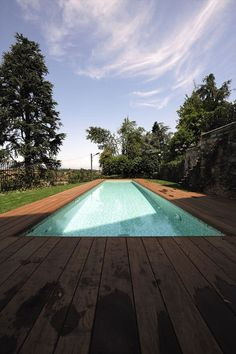 I wonder how much I would use a lap pool if I had one...