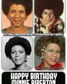 Loving You Minnie Riperton African American Women, African Americans, Minnie Riperton, Maya Rudolph, Funk Bands, Angeles, Black Sisters, Happy Birthday, Old School Music