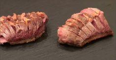 Recette - Magret de canard au foie gras en vidéo