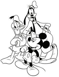 Mickey, Donald y Goofy