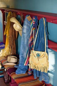 Un sac au style indien à faire en feutrine pour un déguisement d'Indiens