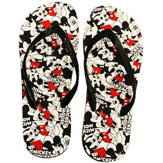 4dff3ca33dcf90 Mickey Mouse  amp  Minnie Mouse Mickey Mouse Flip-Flops ( 9.99) ❤ liked