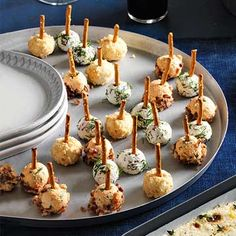 Manchego and Marcona Almond Cheese Balls - FamilyCircle.com