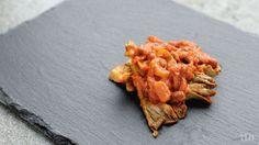 true taste hunters - kuchnia wegańska: Boczniaki w słodkiej korzenno-pomidorowej…