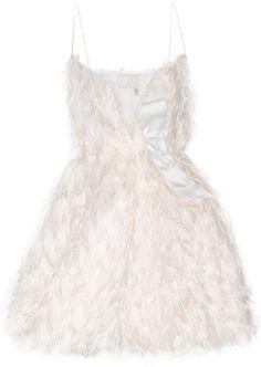 Lanvin Fil Coupé Mini Dress